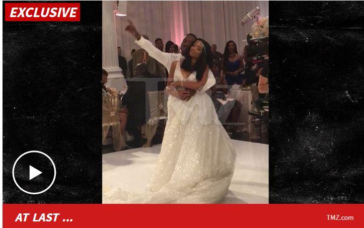 RAY J Amp PRINCESS LOVE Wedding First Dance Song BRANDY KILLS IT RUMOR BUS